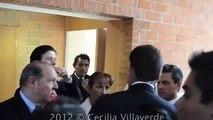 Presidente de Mexico Reacción de Enrique Peña Nieto al salir del baño de la Ibero Peña Nieto