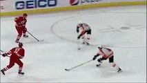Elias Lindholm Goal vs. Philadelphia Flyers 4/4/15