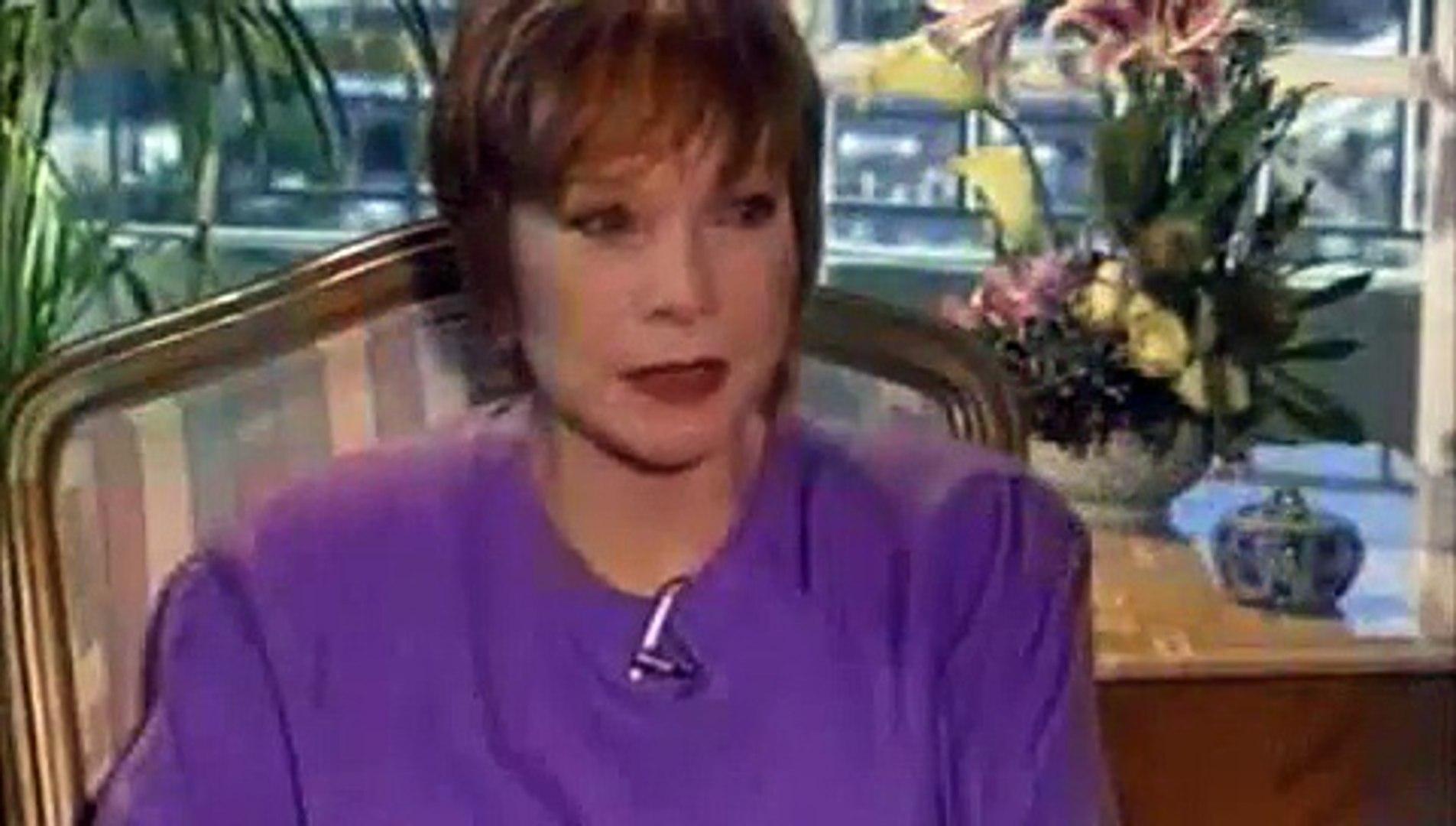 Shirley MacLaine Interview