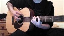 Slipknot - Vermilion, Pt. 2 (Acoustic Guitar Cover)