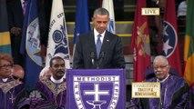 """""""Amazing Grace"""" chanté par Barack Obama"""