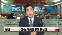 Job market improves in Q1