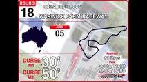 Tour de piste à Warwick Farm Raceway en Volvo S60 V8 Supercars sur Rfactor 1