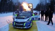 Subaru Rally Team USA 2011 Sno*Drift Rally Test Session and Rally Preview
