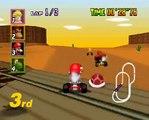 Mario Kart 64 Gameplay Video Kalimari Desert