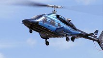 Bell 230 Approach and Landing