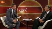 Bill Gates Interview über die Bevölkerungsreduktion 14.07.2011 NWO bei Lanz