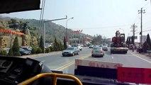 [SWB@104]青島公交集團申沃牌SWB6106MG行走104路石老人段 QingDao Bus Rt.104