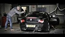 BMW Z4M Coupé Rollenbank Beek (02-03-2013)