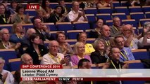 Leanne Woods AM: address to SNP conference 15th Nov 2014