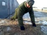 RUSKI VOJNI SKLEKOVI-Russian Army push-ups