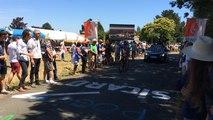 Championnats de France cyclistes : ambiance au Champ du loup