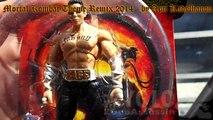 (Jazwares) Mortal Kombat 9 Mini Figures - Johnny Cage , Liu Kang