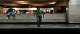 werever (gabo) bailando en el metro