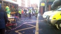 Luas Crashes into car Dublin Ireland