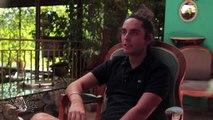 """L'interview de Grégory Montaldo, réalisateur des courts-métrages """"Pages blanches"""" , """"Mémento Mori"""" et """"La bise""""."""