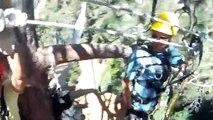 Navitat Wrightwood Zipline Canopy Tour - July 24, 2011 (longest zipline)