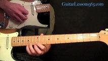 Cool Symmetrical Guitar Licks ala Dimebag Darrell and Eddie Van Halen Lesson