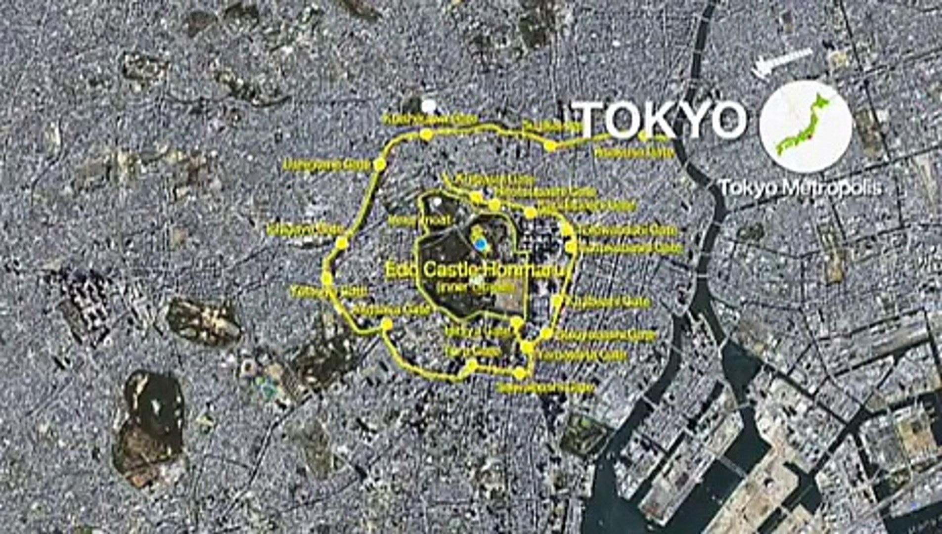 Viewing the beauty of Japan from outer space -Tokyo-