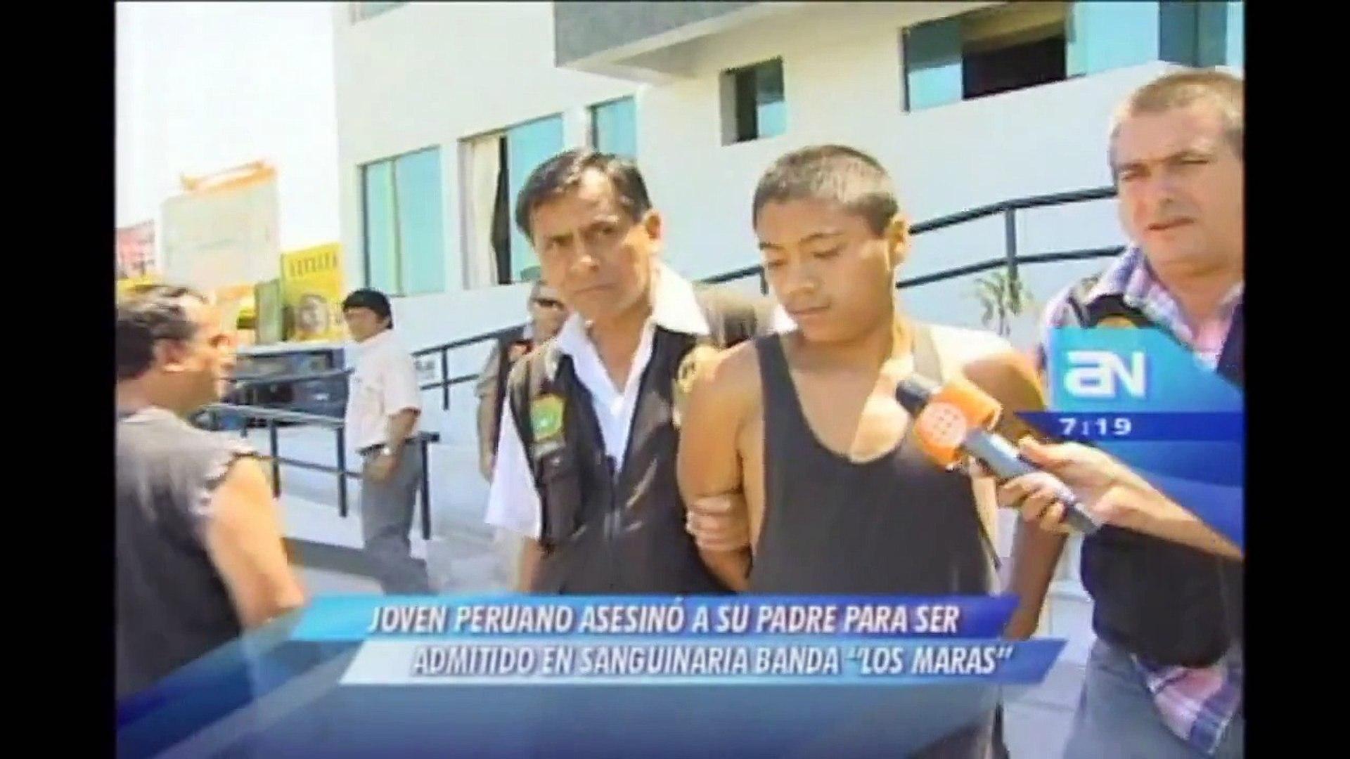 Joven asesinó a su padre para ser admitido en sanguinaria banda 'Los Maras'