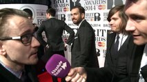 Bastille interview at the BRITs (BRIT Awards) 2014