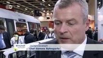 Deutsche Bahnindustrie besorgt um Russland-Geschäft | Wirtschaft kompakt