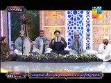 (shahe madina) Naat at Noor e Ramazan HUM TV 28 June 2015