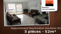 A vendre - Neufchâtel-Hardelot (62152) - 3 pièces - 52m²