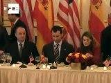El Príncipe anima a las empresas españolas a ampliar sus alianzas en otros mercados .