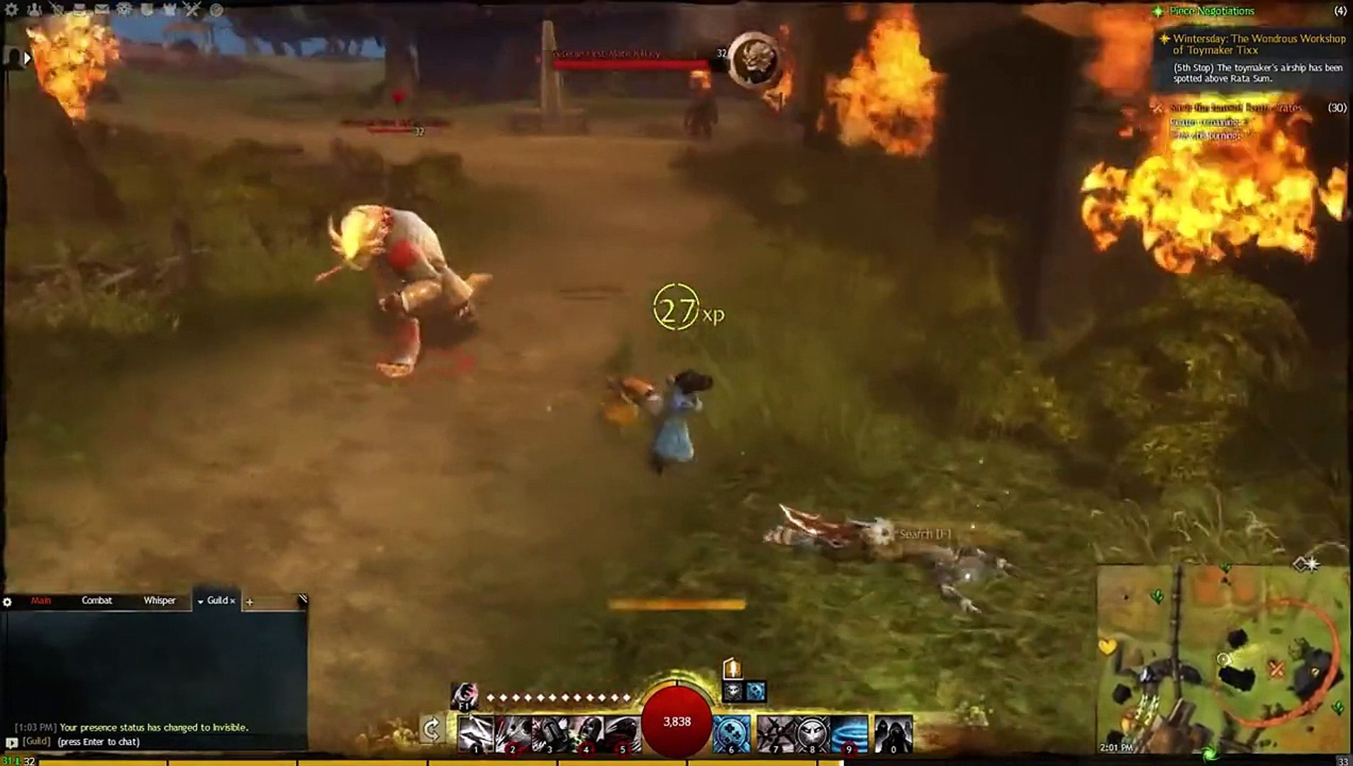 Guild Wars 2 - Thief Leveling Guide