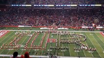 Rutgers University Marching Scarlet Knights & Indiana University Marching Hundred-Halftime Show