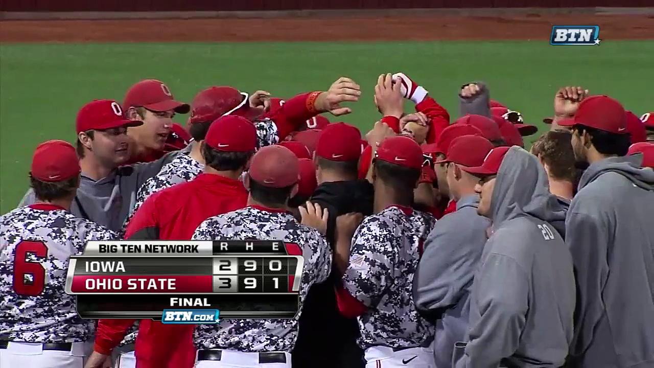 Iowa at Ohio State – Baseball Highlights