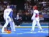 "Tamer Salah Taekwondo Highlights ""Athens 2004"""