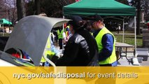 Get rid of Harmful Products at NYC SAFE Disposal Events (Extended)