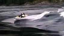 World's Biggest River Rapids. Surfing.