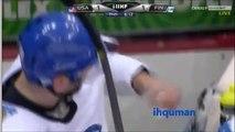 MM-2012   Puolivälierä: USA - FIN (IIHF 2012 Quarterfinal USA-FIN)