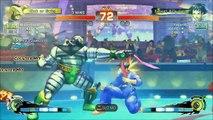 Super Street Fighter IV Arcade Edition:  Zangief vs Makoto - Seichusen Godanzuki