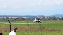 MiG-29 take-off and landing - Airshow CIAF
