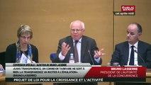 Bruno LASSERRE, président de l'Autorité de la concurrence - Audition
