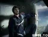 Bud Light Werbung im Flugzeug | Bud Light in the Plane