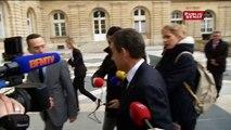 Nicolas Sarkozy au groupe UMP du Sénat, 31 mars 2015