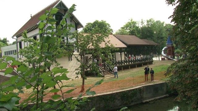 Inauguration Jardin et Pavillon de l'Île