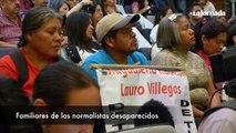 Toledo y familiares de los 43 normalistas inauguran Carteles por Ayotzinapa