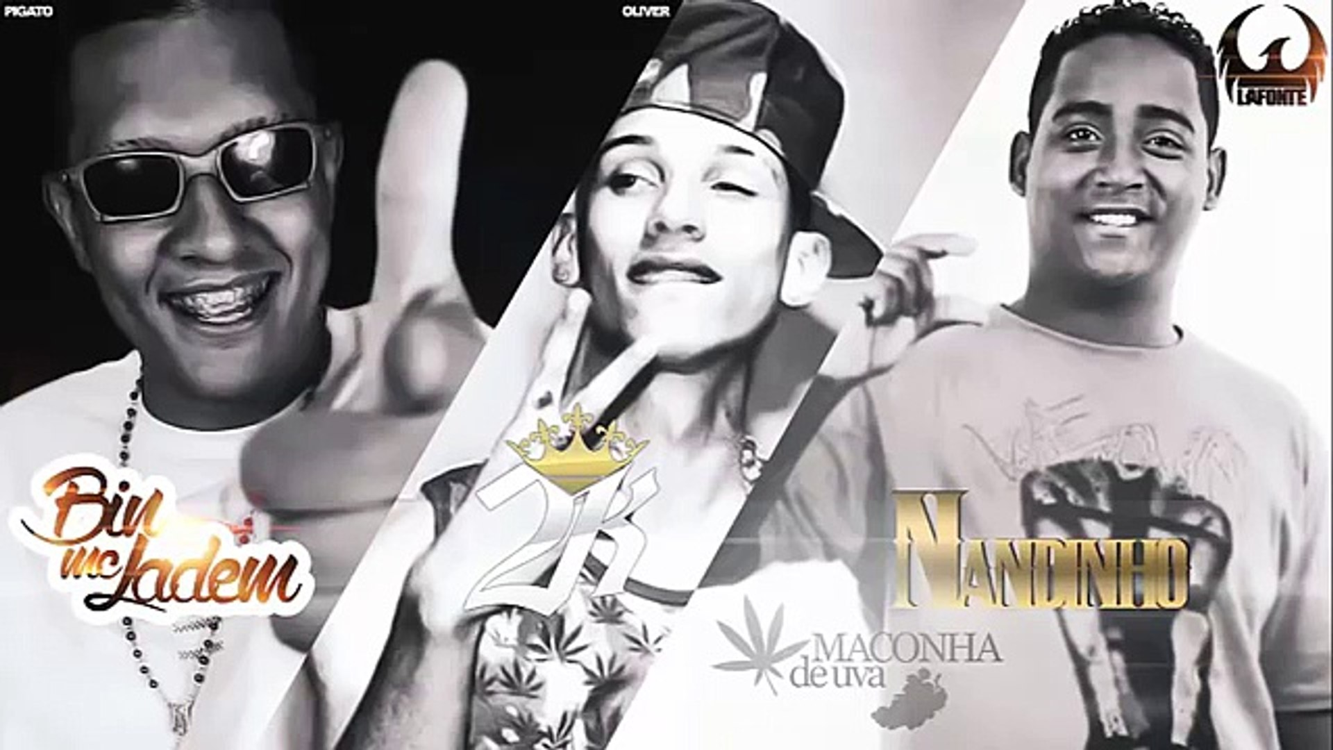 MC Bin Laden, MC 2K e MC Nandinho - Maconha de Uva ( Mano DJ ) Lançamento 2014