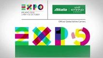 Milano Expo 2015   Etihad Airways and Alitalia Joint Liveries