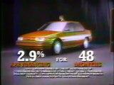 1992 Ford Escort & Probe Commercials