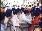 Baba Nihal Singh ji recieving PANTH RATAN Award from SRI AKAL TAKHAT SAHIB