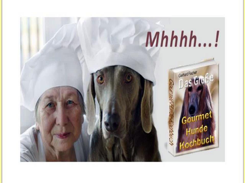 Das Grosse Gourmet-hunde Kochbuch