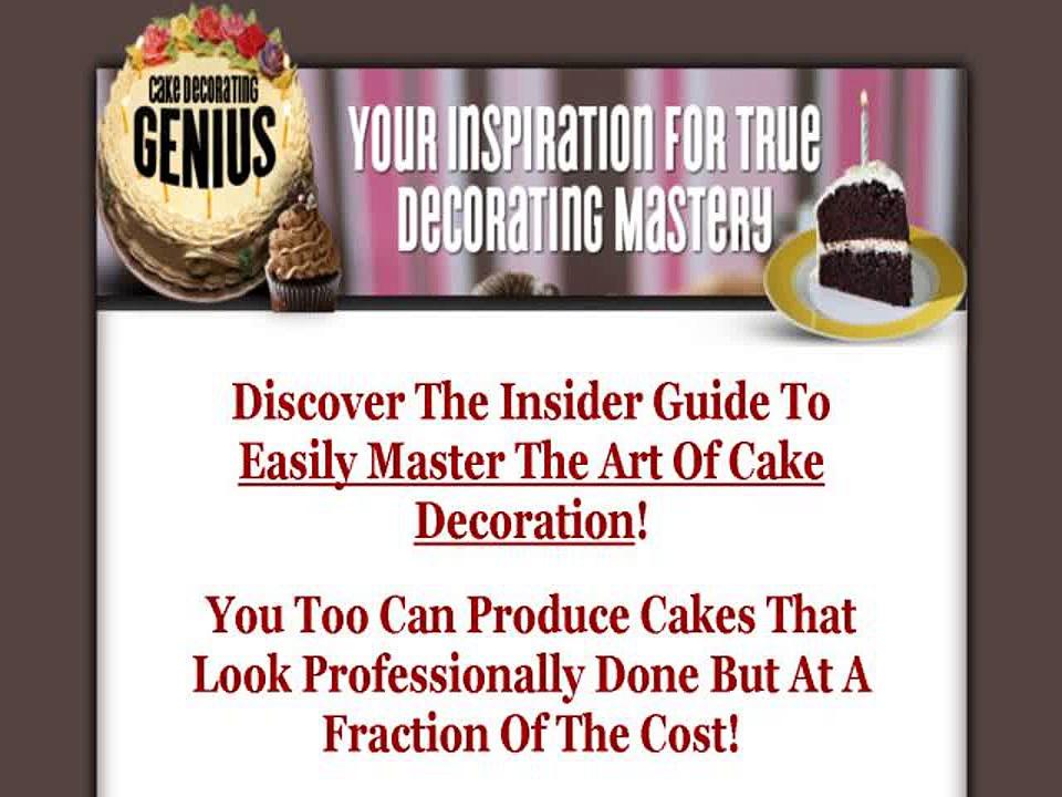 Cake Decorating Genius