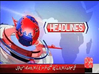 Headline 27-06-2015-2000 - 92 News HD